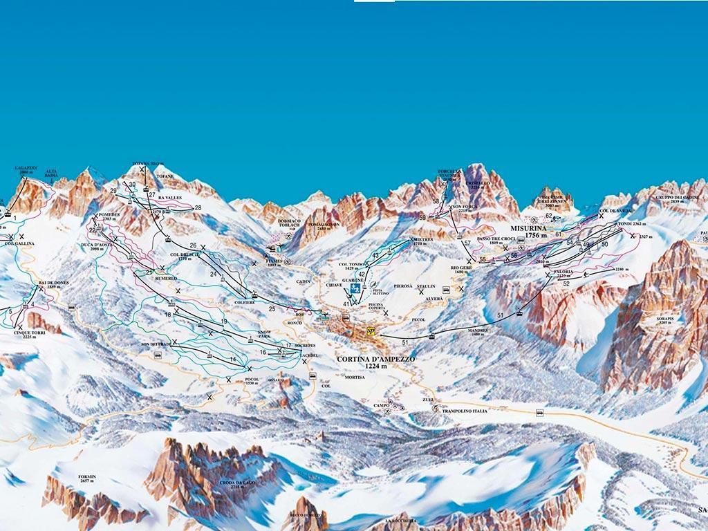 Разбираемся в сложности горнолыжных спусков