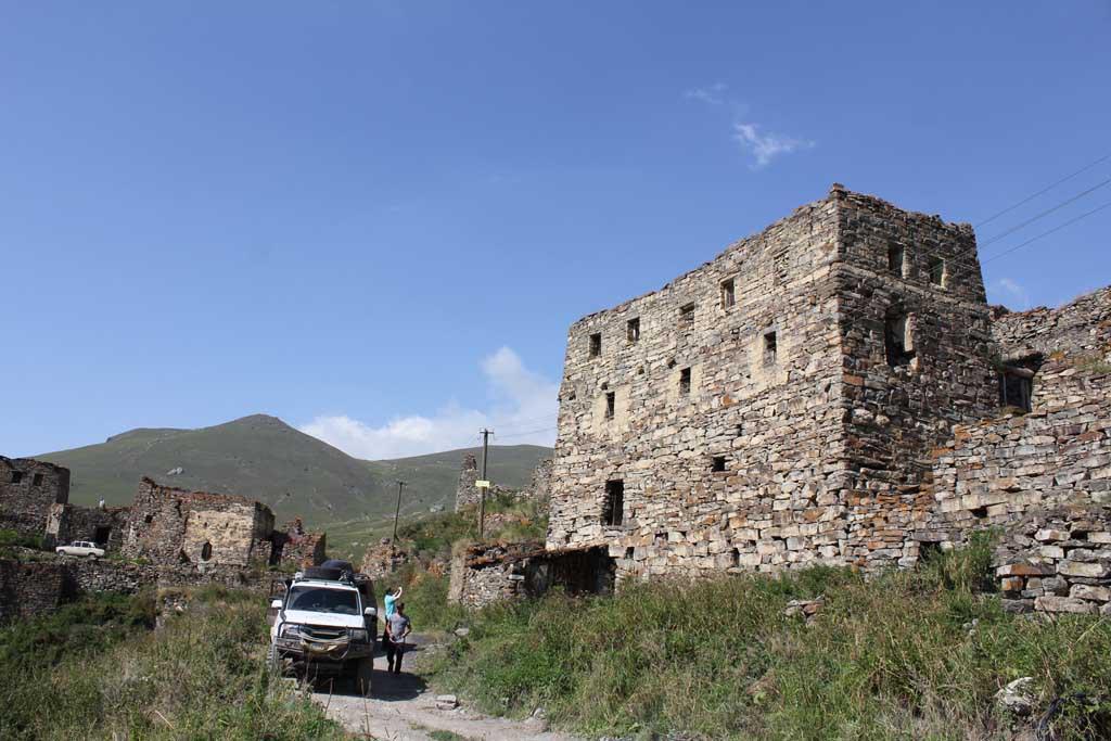 Селение Галиат. Северная Осетия -Алания.