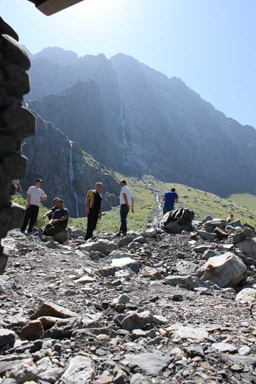 Самый высокий водопад России - Большой Зейгалан. Республика Северная Осетия - Алания.