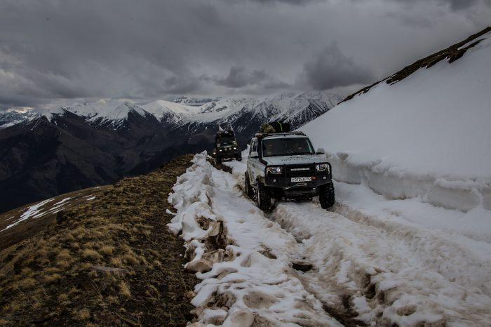 Экспедиция — «От Эльбруса до Казбека» — 7 дней