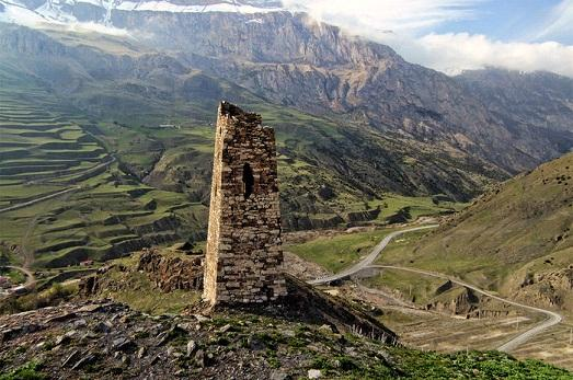 Средневековую башню в Северной Осетии отреставрируют за счет мецената