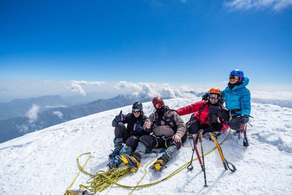 Восхождение на Казбек 5033 м