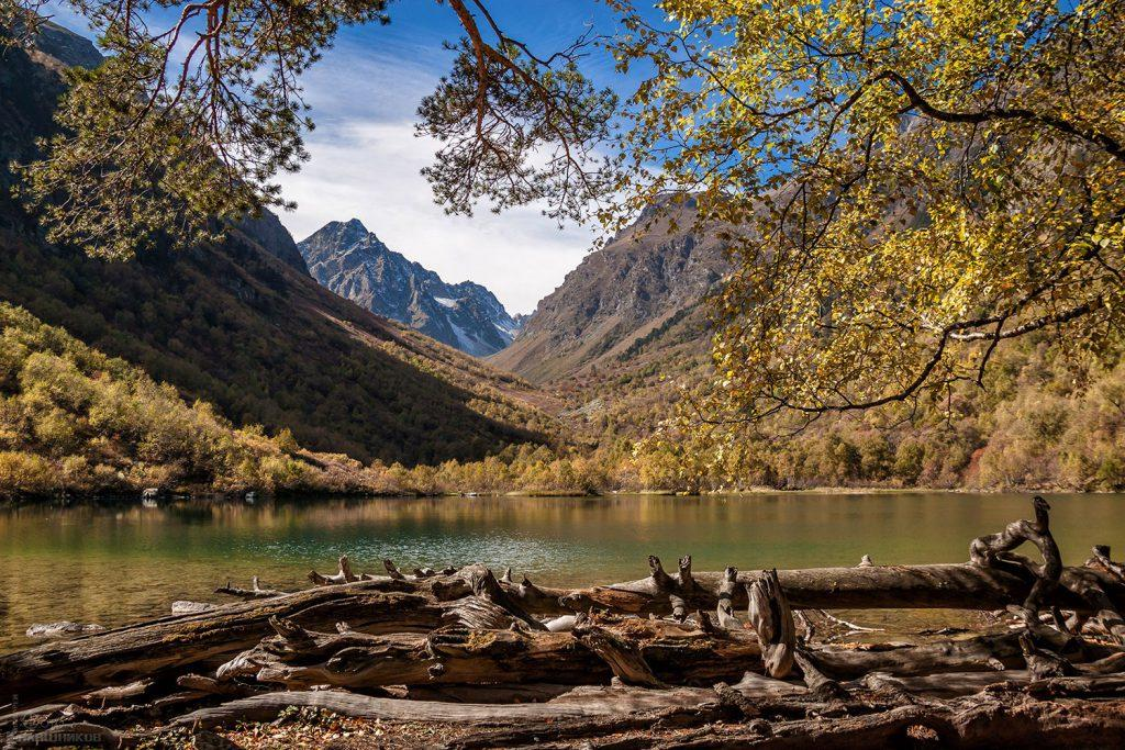 Треккинг к Бадукским озерам (Теберда)